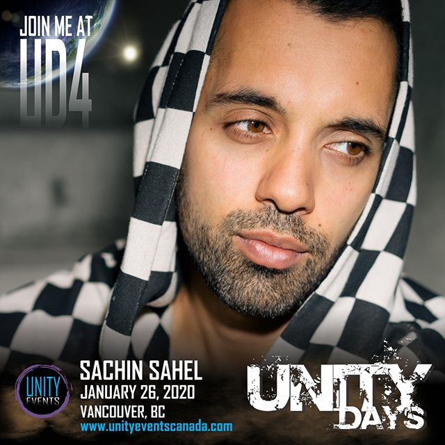 Our first #UNITYDAYS2020 guest... Our friend, SACHIN SAHEL!  Passes and extras on sale soon! Stay tuned to our socials and website.  #The100 #UD4