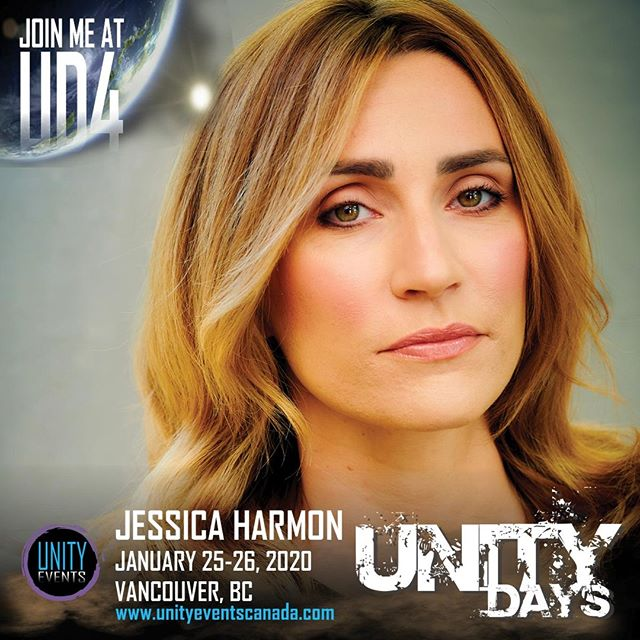 It's been a little while since we've seen this next #UNITYDAYS2020 guest... Let's welcome back, JESSICA HARMON!  Jessica is a bonus guest at #UD4. Passes and extras on sale soon. Stay tuned to our socials and website for announcements.  #the100 #niylah #jessicaharmon #yvr #yvrevents #604 #vancouver