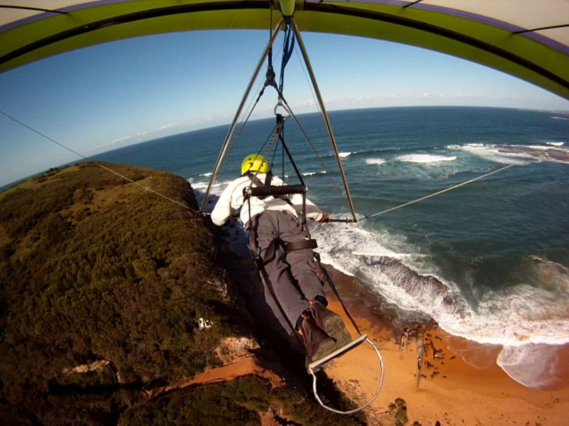 flying at mona vale