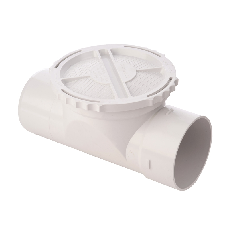 An example of a bypass cap which is installed inline with the water inlet pipe to your rain water tank.