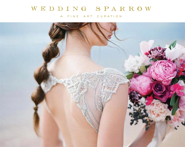 Gwendolynne Elke wedding dress - Love Note Photography - Wedding Sparrow