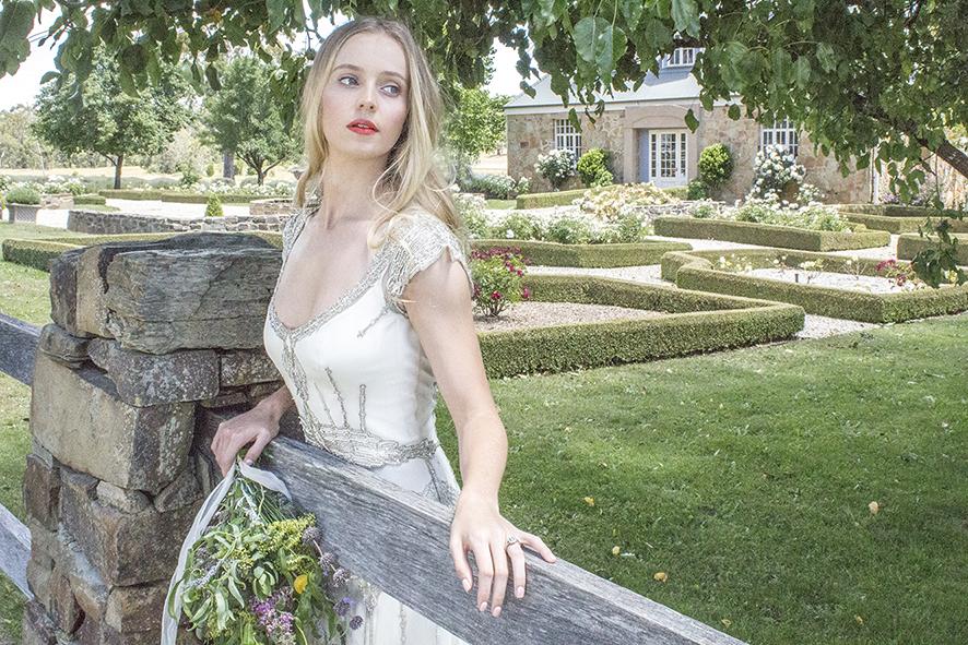 Sabine 2 fence Gwednolynne Sault Daylesford wedding Dress low res .jpg