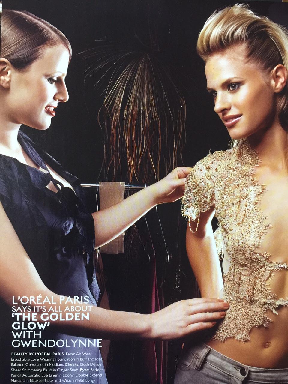 Gwendolynne BurkinFashion Designer L'Oreal Marie Claire .jpg