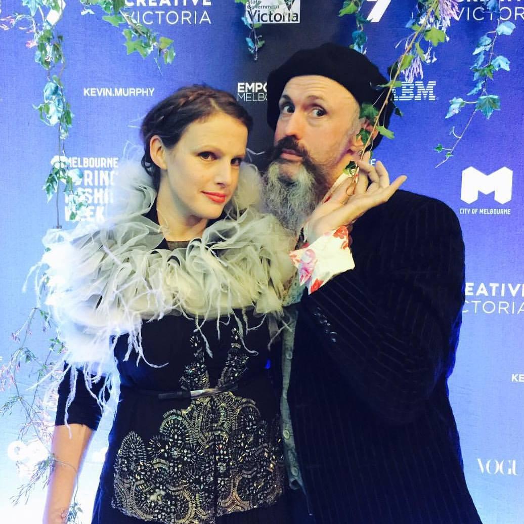 Gwendolynne Burkin and Richard Nylon MSFW Fashion Week .jpg