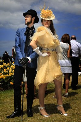 Gwendolynne Burkin and Richard Nylon at The races .jpg