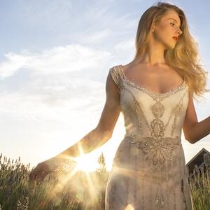 Gwendolynne Willow gown