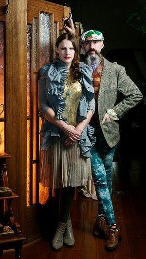 Gwendolynne Burkin and Richard Nylon