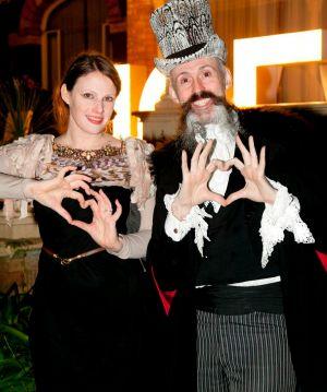 Richard Nylon and Gwendolynne Burkin