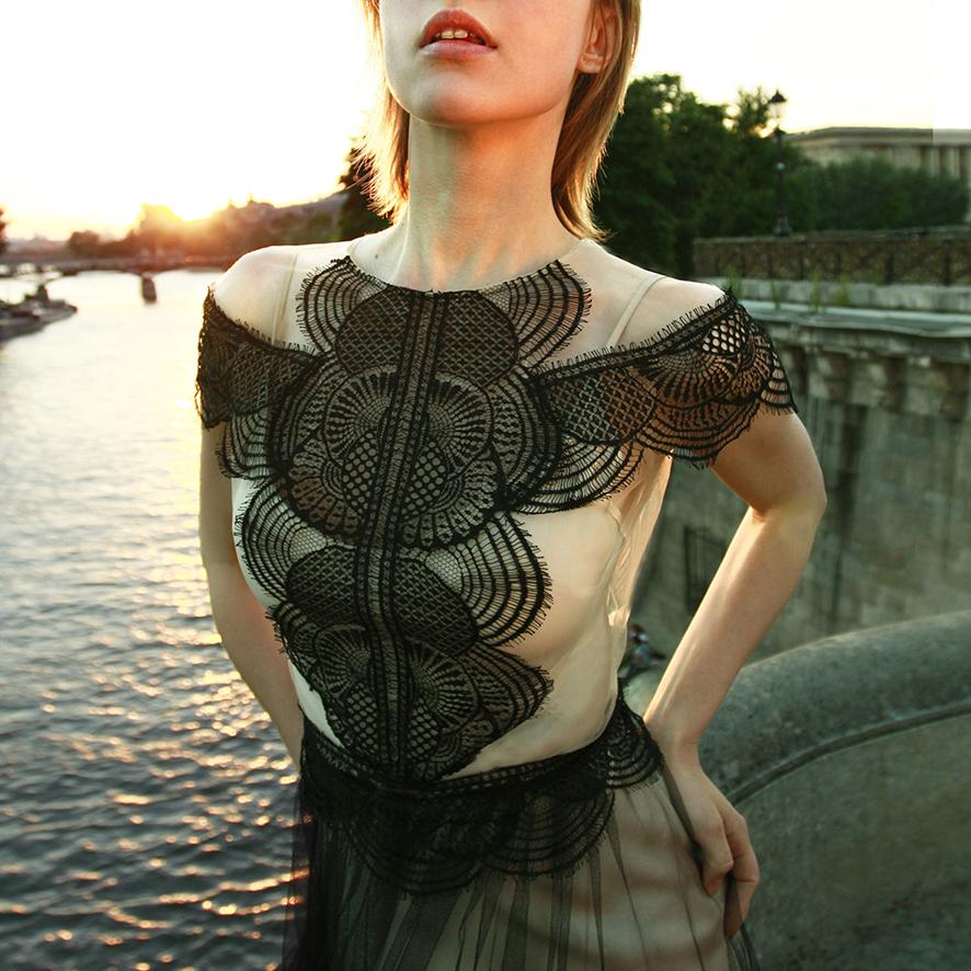 Gwendolynne Wedding Dress Aya Black