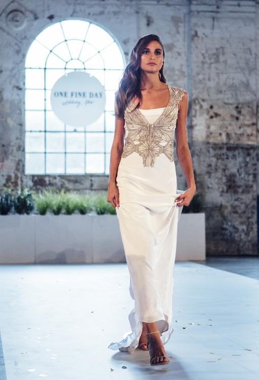 Gwendolynne North dress with Arrow Vest