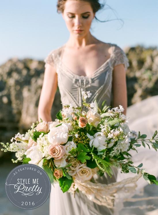 Gwendolynne Francis wedding dress - Connie Whitlock - Style Me Pretty