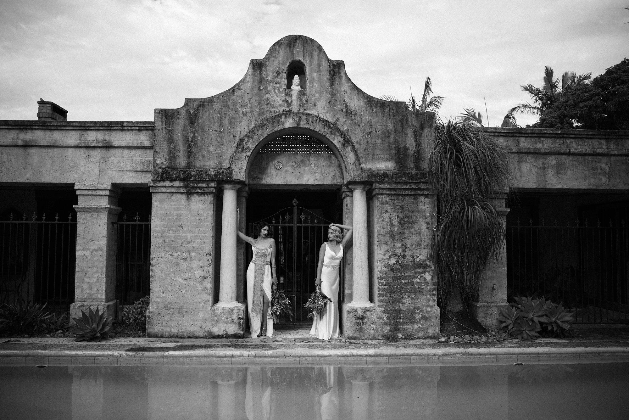 Yasmina and Tasha Gwendolynne Wedding Dress Designer Melbourne  EMPIREWeb(274).JPG