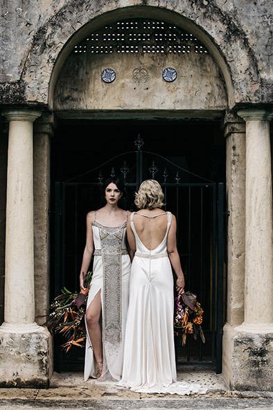 Yasmina and Tasha Gwendolynne Wedding Dress Designer Melbourne EMPIREWeb(629).JPG