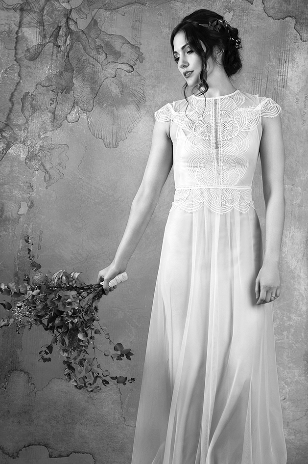 Aya Gwendolynne Wedding Dress Designer Melbourne Pantomine Photography BW 150dpi 10cm  DSC_2757.jpg