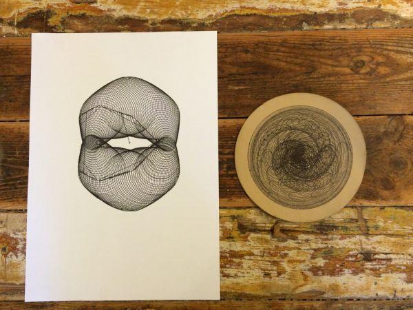 Polar Drawing Machine   Designet af  Morten Ydefeldt