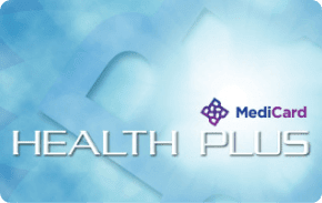 MediCard Health Plus E-Voucher    ₱1,100 one-time payment   Doctor consultations and one physical exam in MediCard free-standing clinics