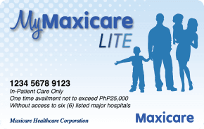 My Maxicare Blue    ₱1,999 one-time payment   One-time hospitalization for common viral diseases up to ₱ 25,000 in Maxicare's accredited hospitals