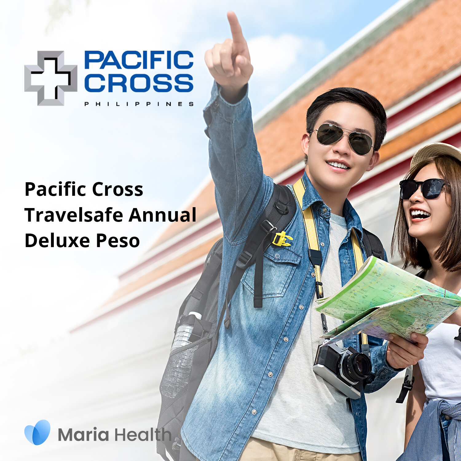Pacific Cross Travelsafe Annual Deluxe Peso    ₱7,881 one-time payment   The Travelsafe Annual Deluxe Peso is an annual plan that covers medical treatment up to ₱1,000,000 per trip.