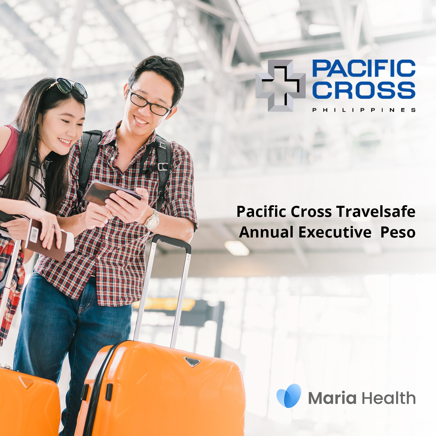Pacific Cross Travelsafe Annual Executive Peso    ₱5,149 one-time payment   The Travelsafe Annual Executive Peso is an annual plan that covers medical treatment up to ₱500,000 per trip.