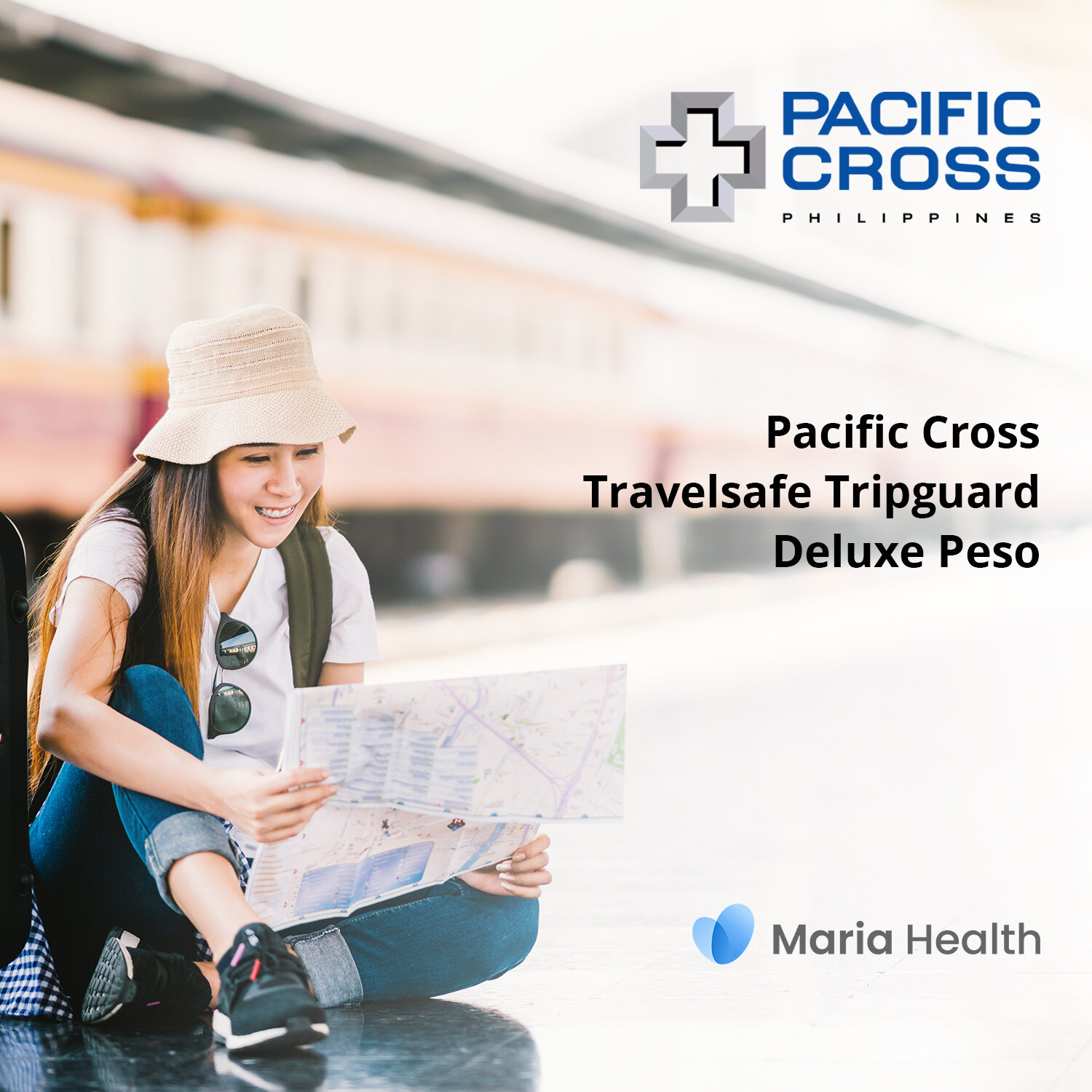 Pacific Cross Tripguard Deluxe Peso    ₱364 one-time payment   The Travelsafe Tripguard Deluxe Peso lets you enjoy up to ₱1,500,000 of medical treatment with travel inconveniences, and personal accidents when you're travelling