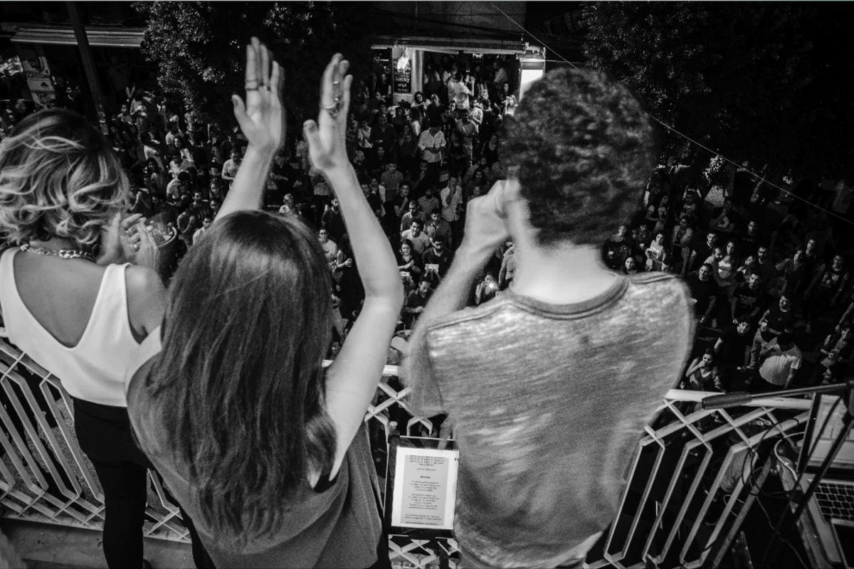 Etyen feat. Ingrid Bawab & Latoya at Red Bull Vertical Stage in Beirut, LB