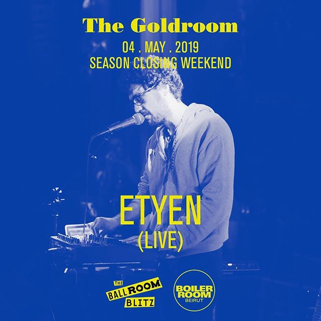 Tonight! Playing live in the Goldroom at the @ballroomblitzbeirut with @boilerroomtv - set time:2am