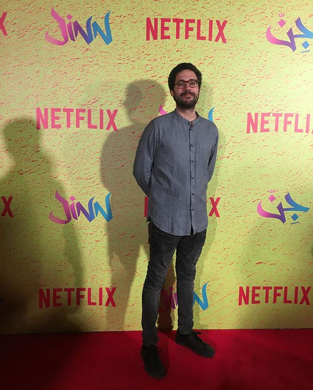 My first red carpet experience last night at @jinnnetflix premiere, the series is out worldwide TODAY on Netflix in 190 countries and territories. Original music score by me - check out the show let us know what you think!