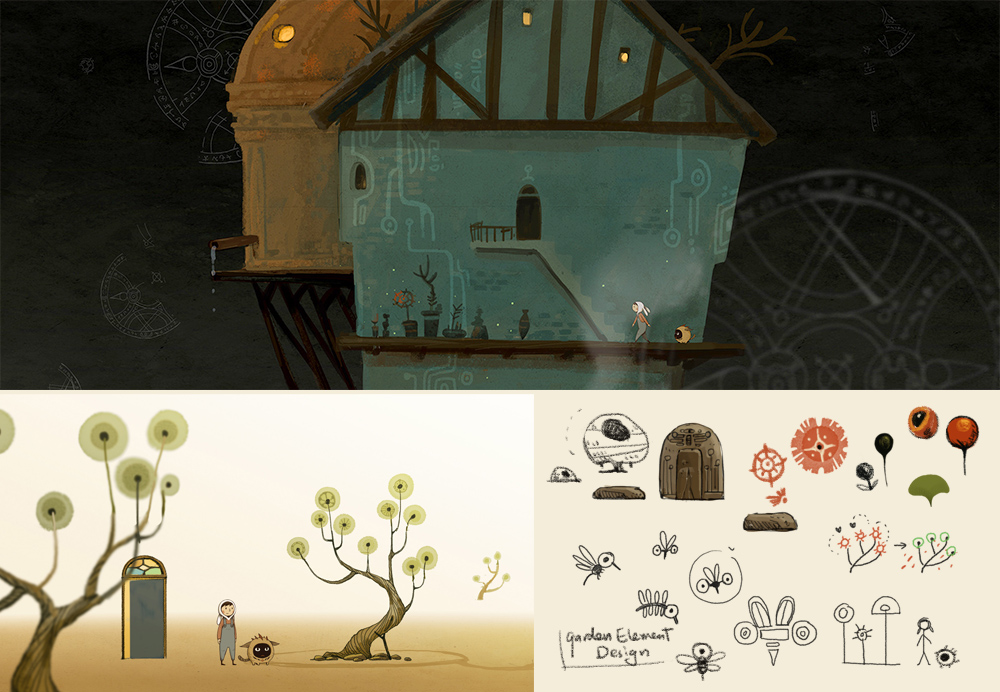 Some concept art, level mock up and sketchs