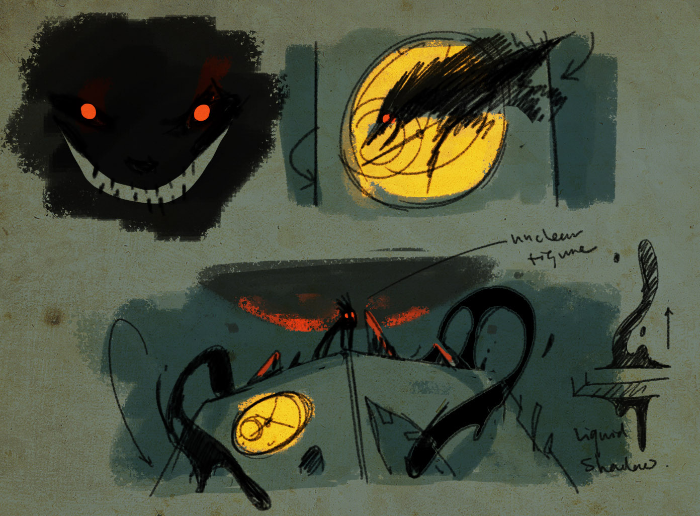 Shadow Creature - Concept Art