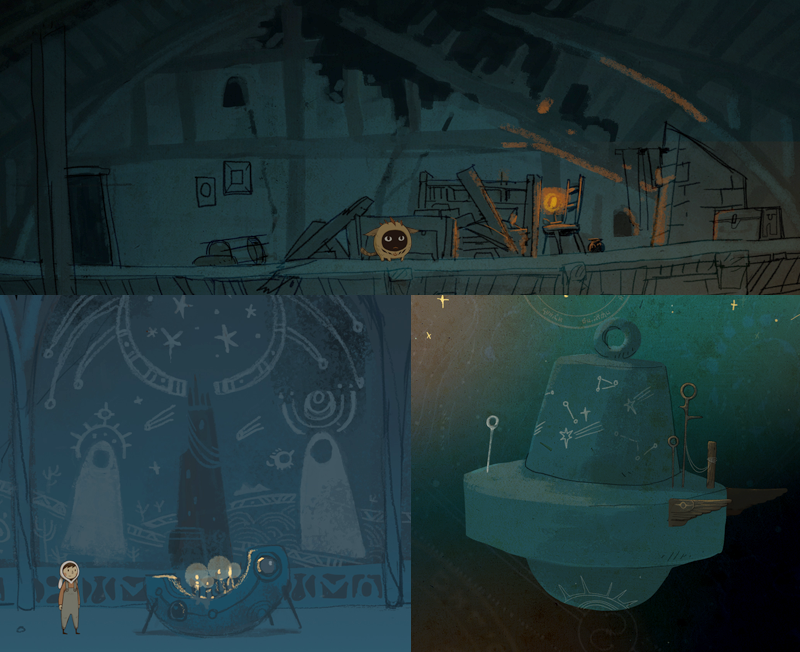 screenshots from some of the mock up levels