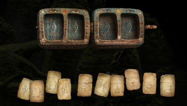 The Mushroom picker's puzzle from Samorost3