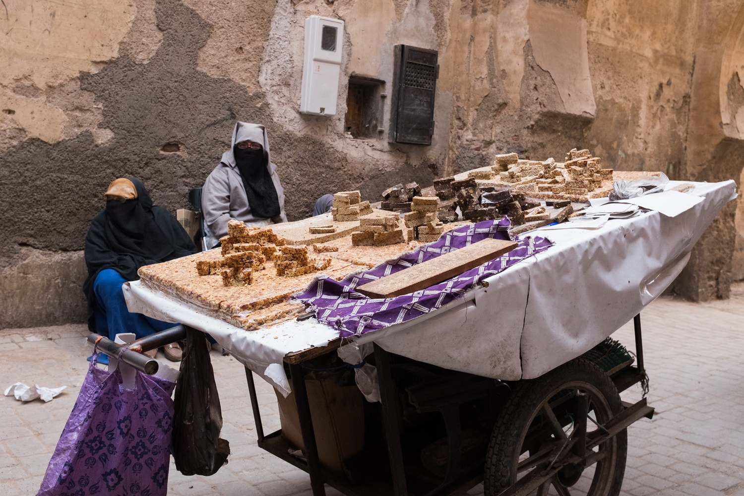 12. Nougat sold on the streets