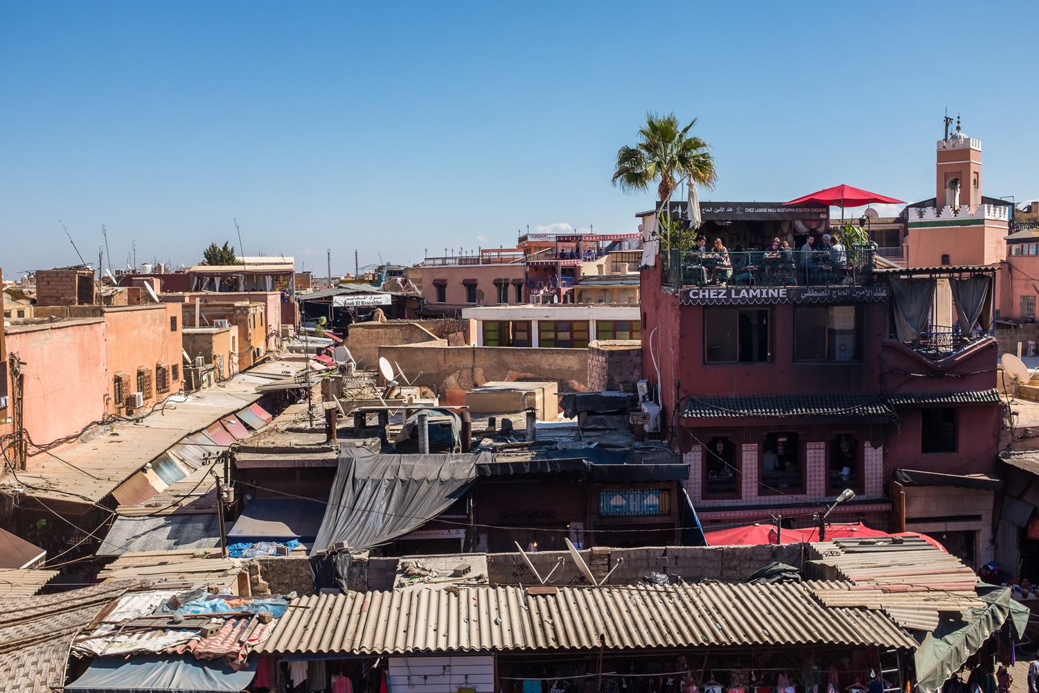 18. Rooftops of the Medina