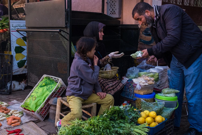 24. Market scene