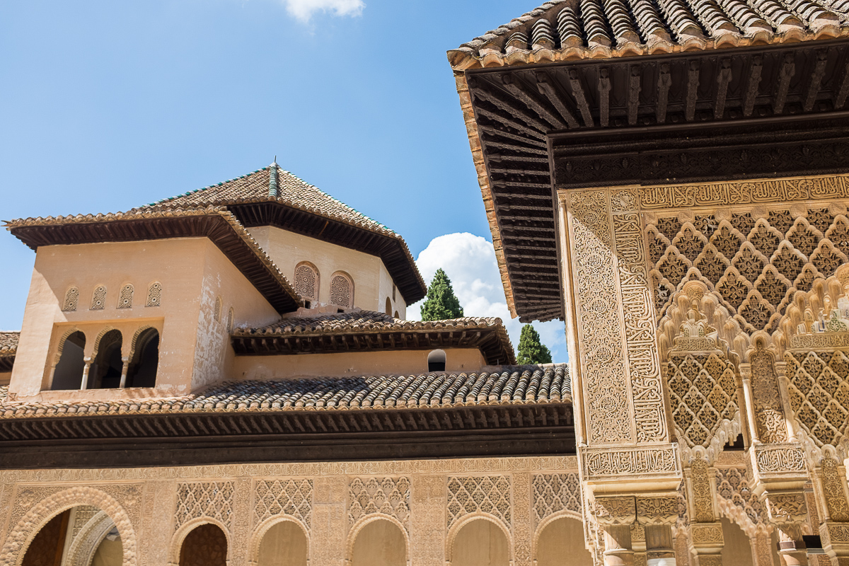Architecture of the Hall of the Abencerrages / Sala de los Abencerrajes