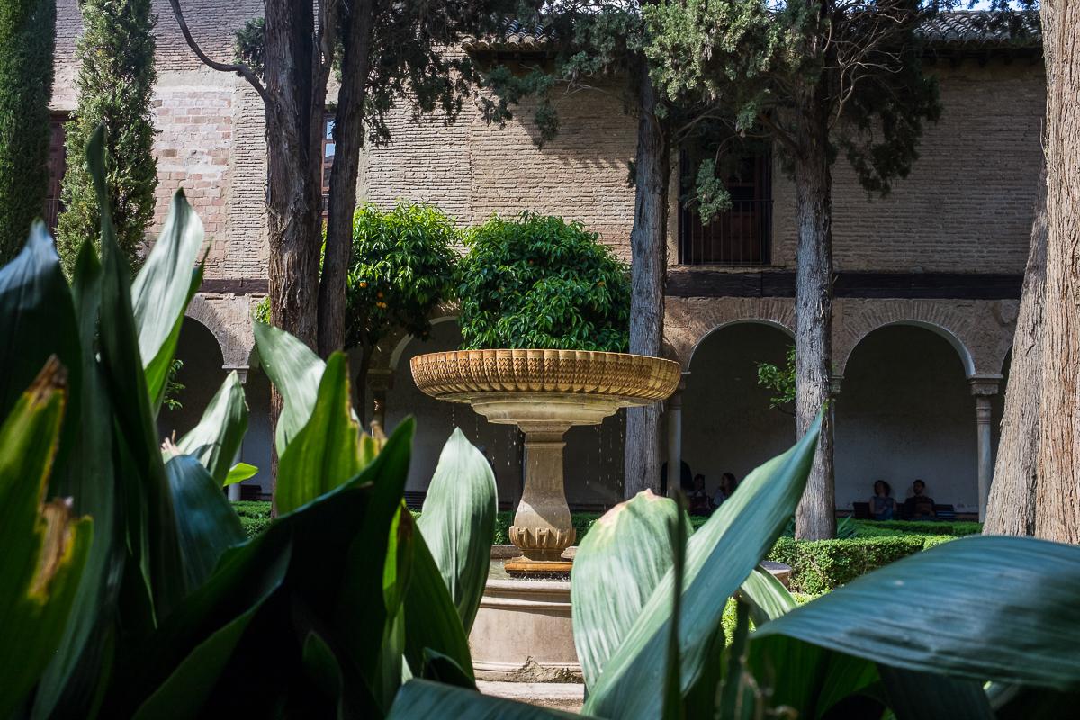 Inner courtyard of the Sala de los Abencerrajes.