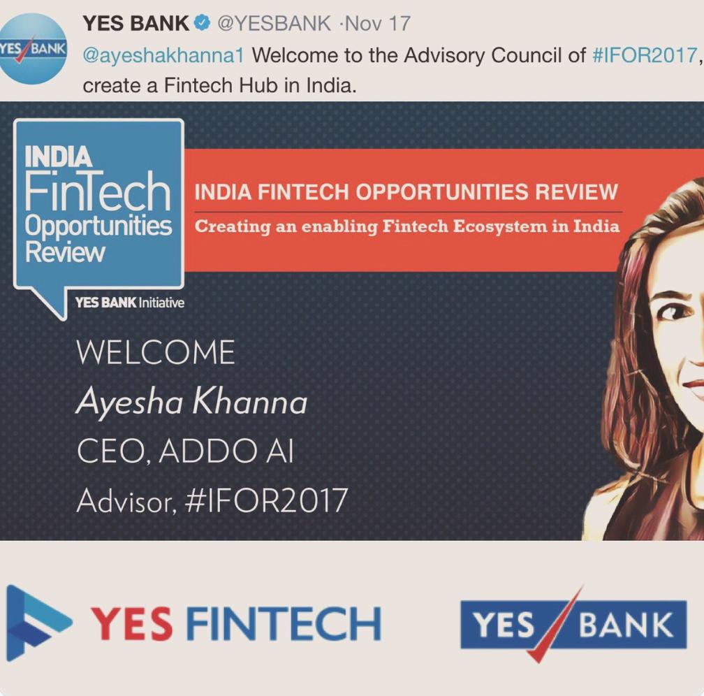 Ayesha Khanna YES BANK