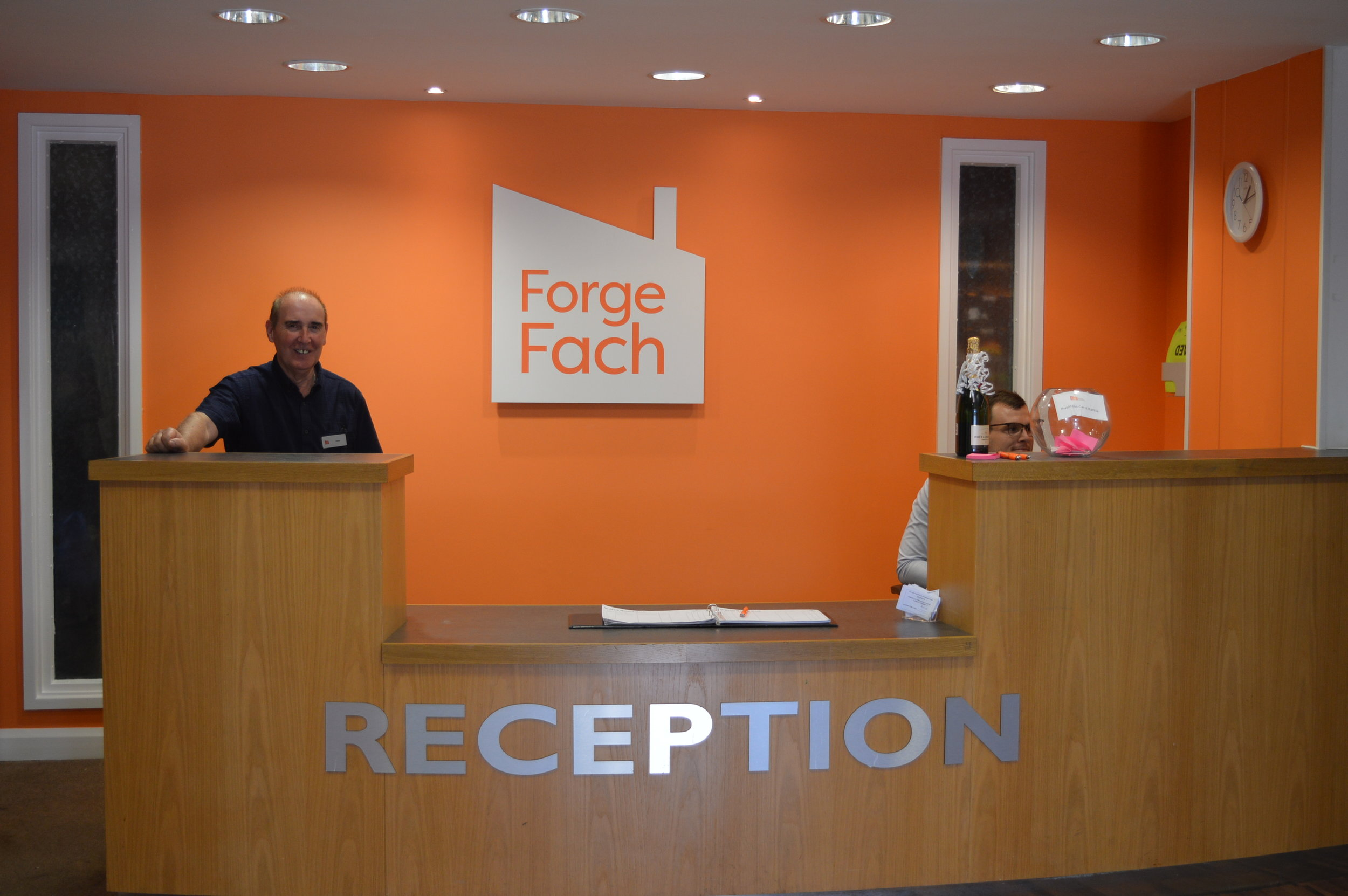 There is awlays a warm welcome awaiting you at Forge Fach