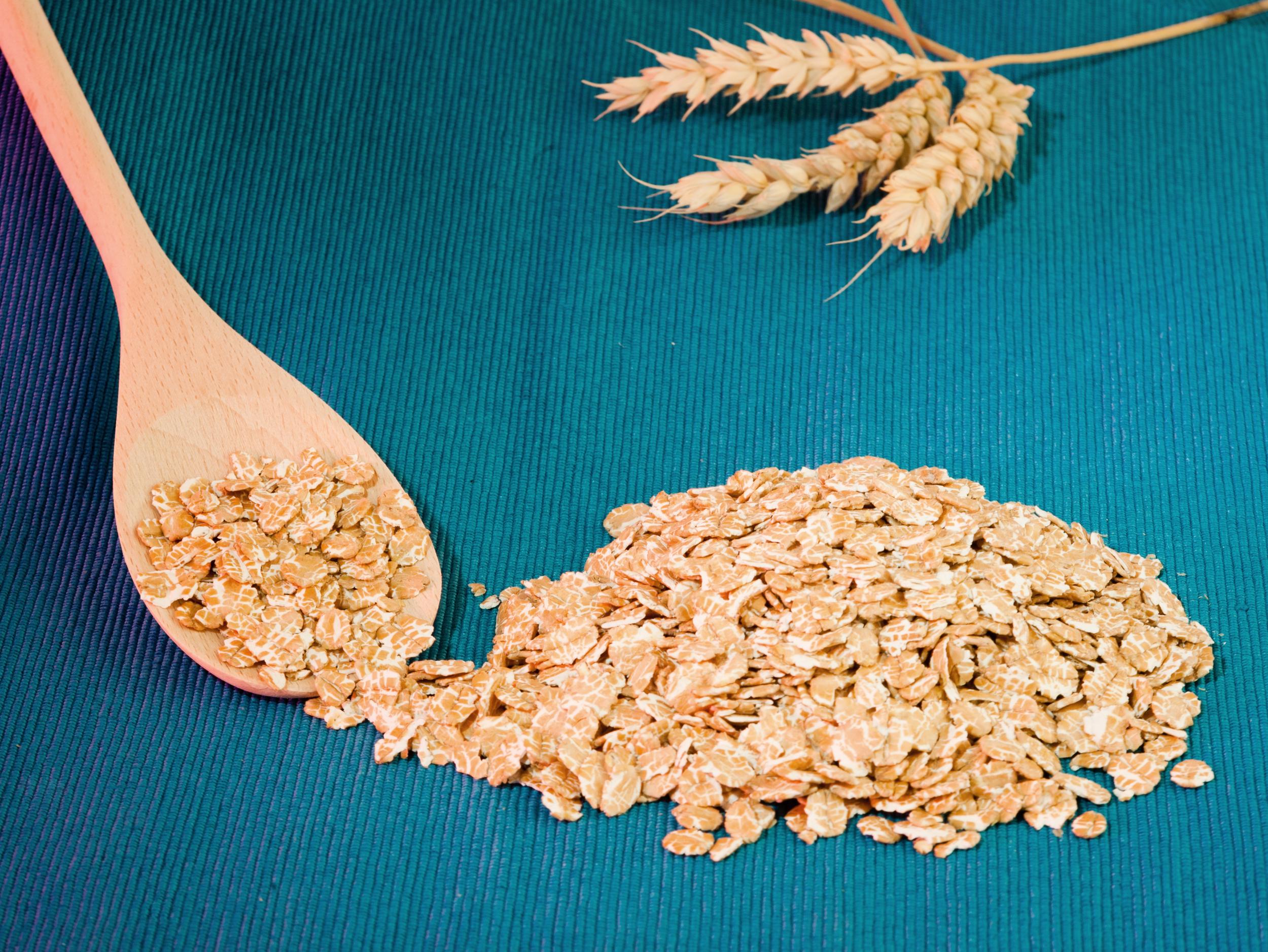 Copos de Trigo  Wheat Flakes