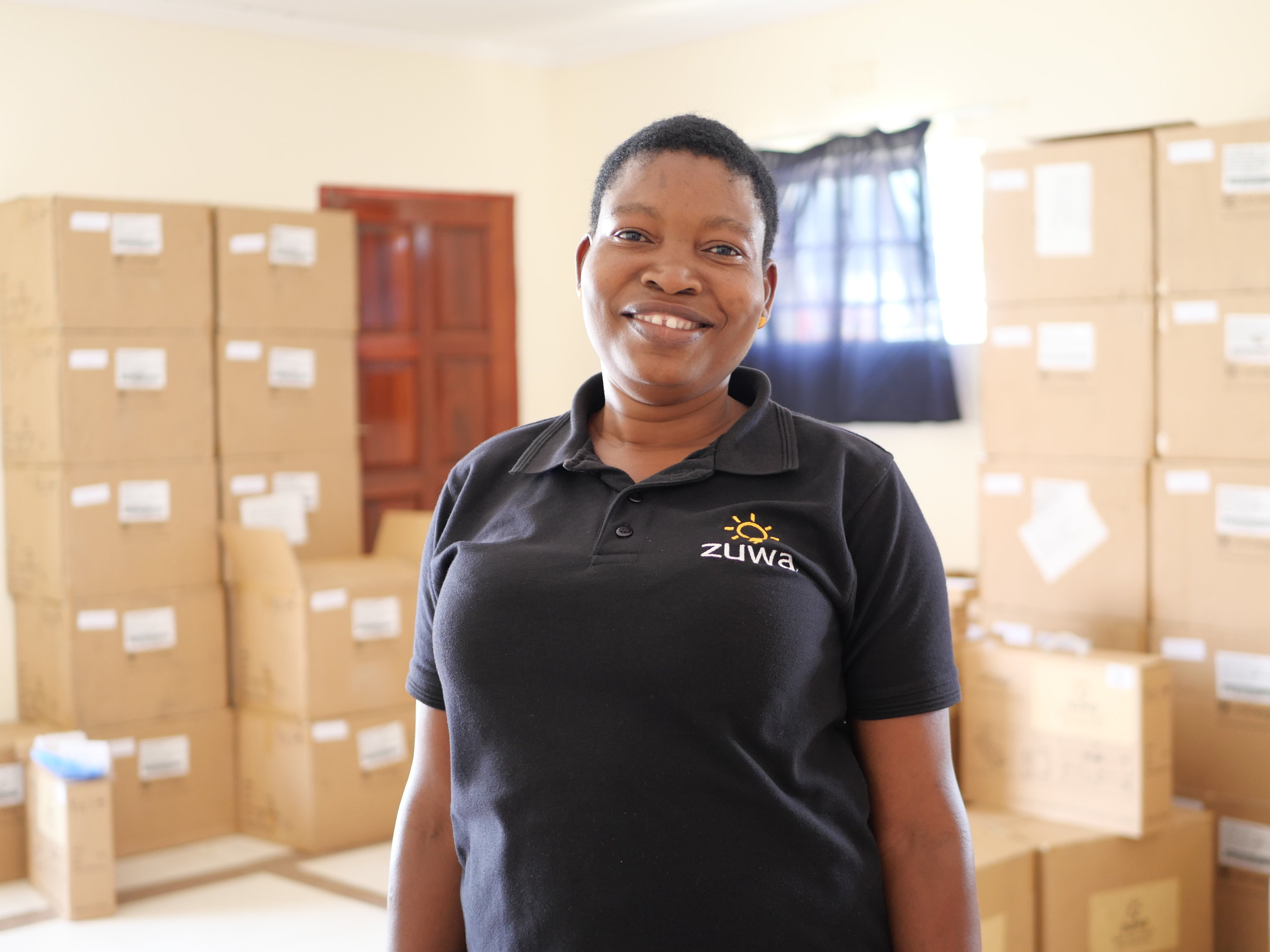 JOYCE IDADE    OFFICE AND WAREHOUSE ASSISTANT   Joyce is a team player and no job is too big or too small for her. She is kind and generous to all and has years experience in administration and sales. She loves listening to the radio, watching TV and going to church.
