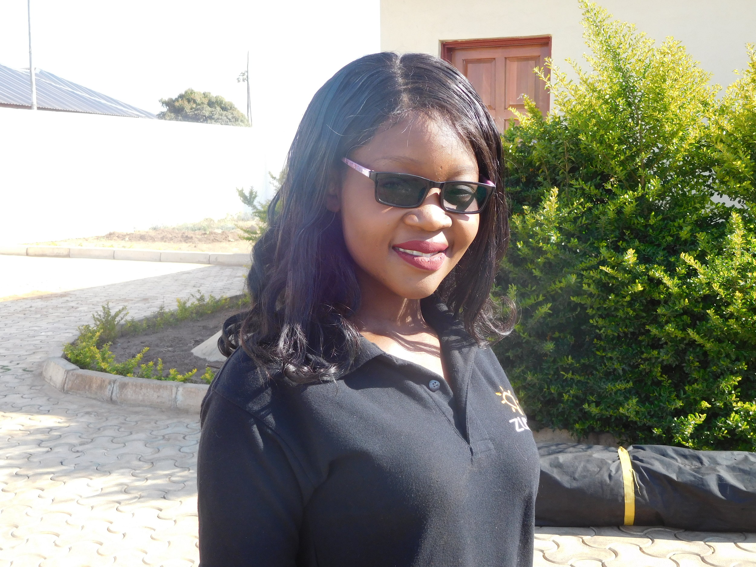 DOREEN ZULU KALISHA    I.T INTERN   Doreen is a committed and passionate lady who teaches herself what is necessary to stay on top of things and persistent when faced with a challenge. Doreen holds a Bachelor's Degree in Information Technology from The University of Malawi, The Polytechnic.