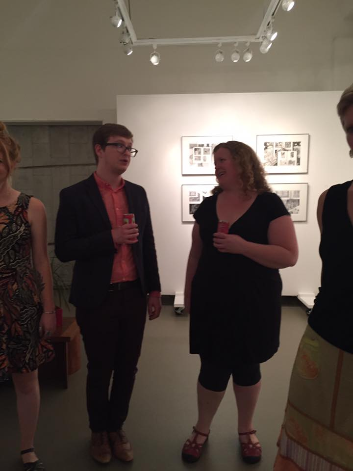 Micah Zavacky in conversation with ceramics MFA alum Laura Newman.