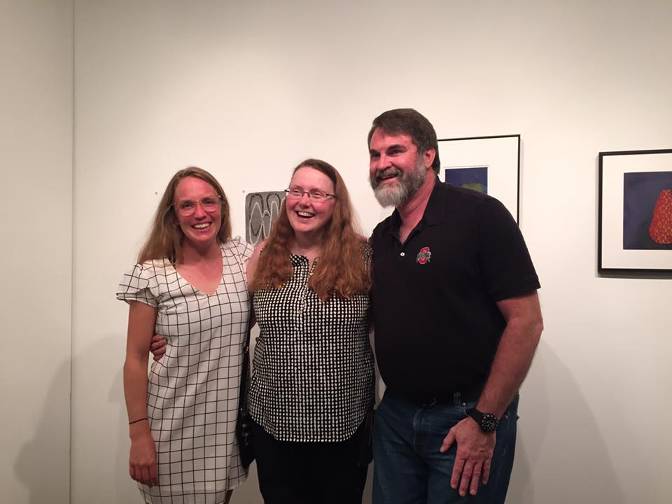 Dylan Welch, Veda Rives and her partner Roger.