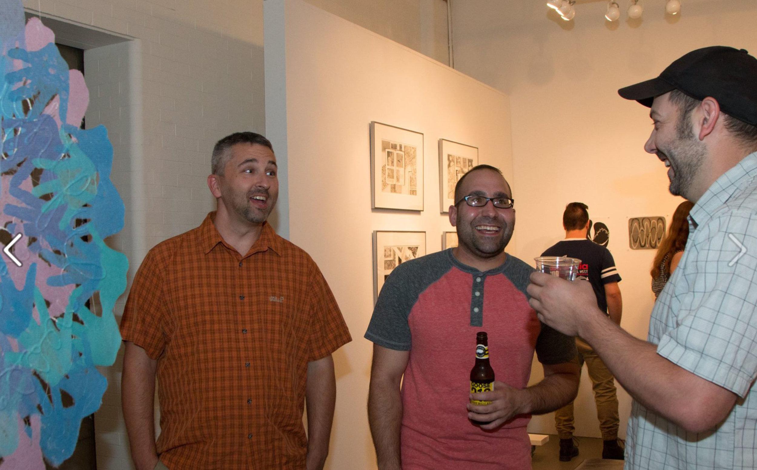 Billy, George Barecca, and Jeremy Langston. Photo Courtesy: Justine Kaszynski Photography