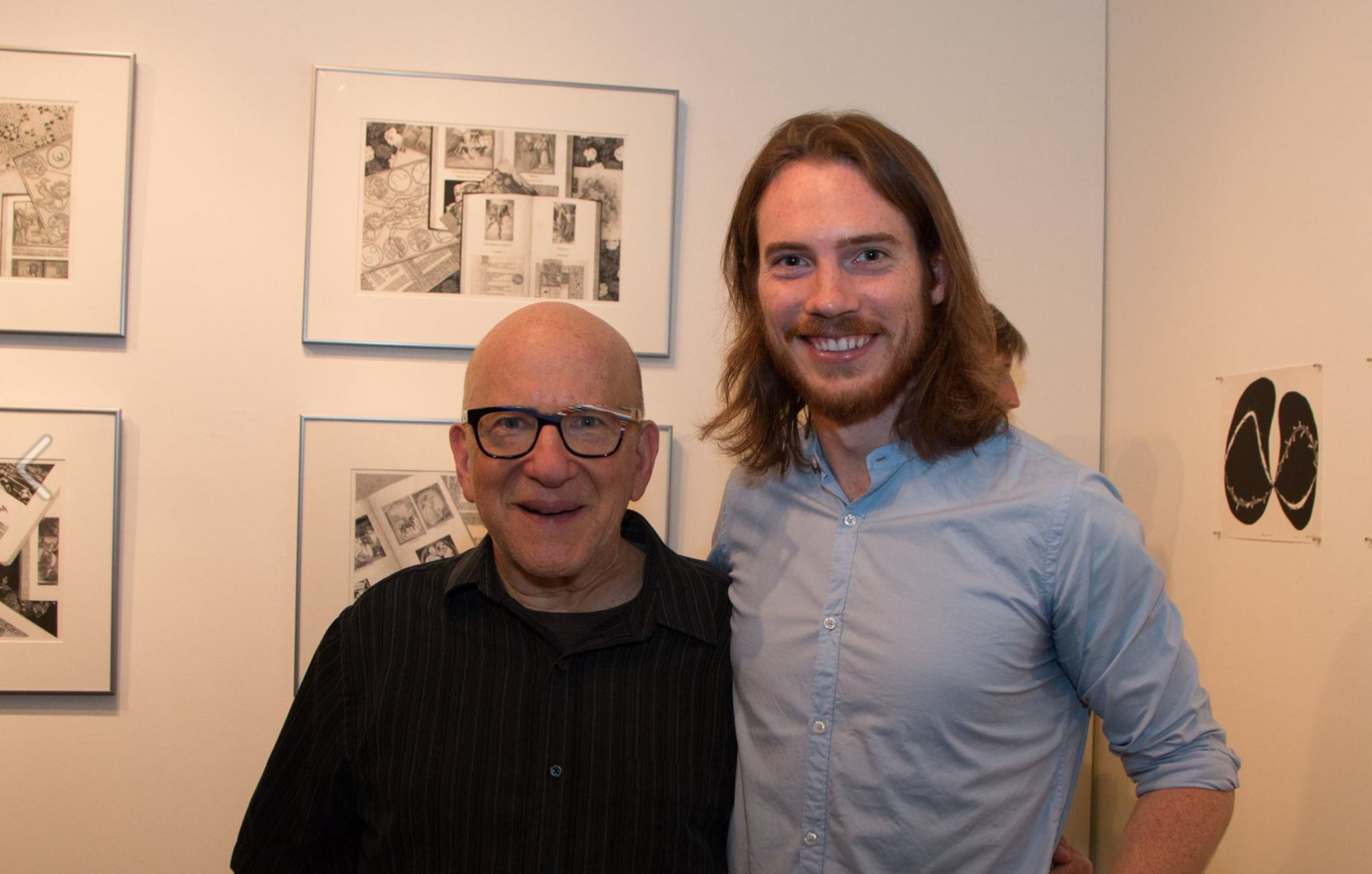Barry Blinderman and Michael Blake. Phot courtesy: Justine Kaszynski Photography.