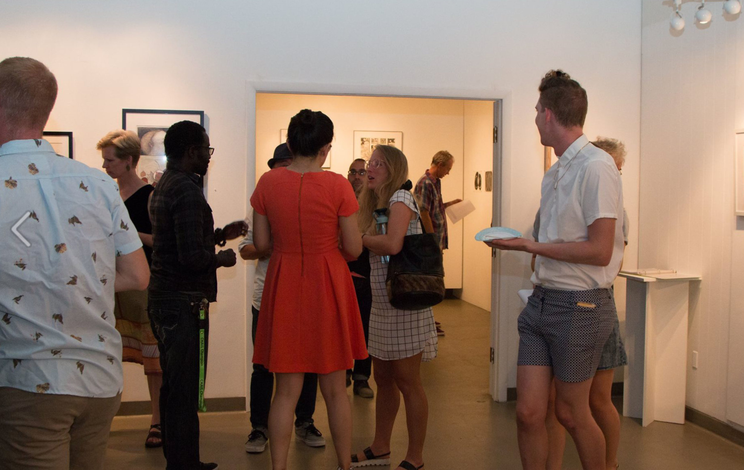 When you plant mint... reception, exhibition shot. Photo courtesy: Justine Kaszynski Photography