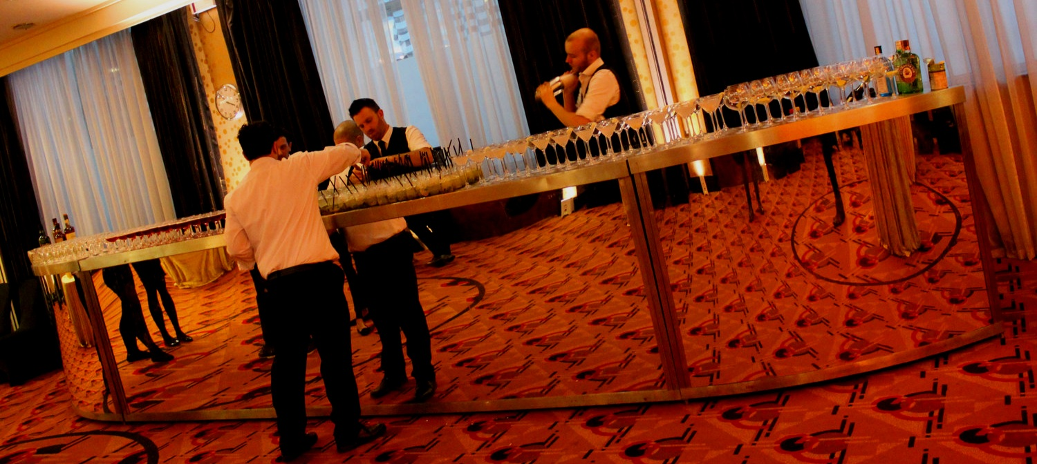Elegance bar - The elegance bars are made up of a combination of straight bars with curved edges to create an elegant bar available in 8m up to 12m long. These are great for venues where the bar needs to be placed against a wall.Get in Touch