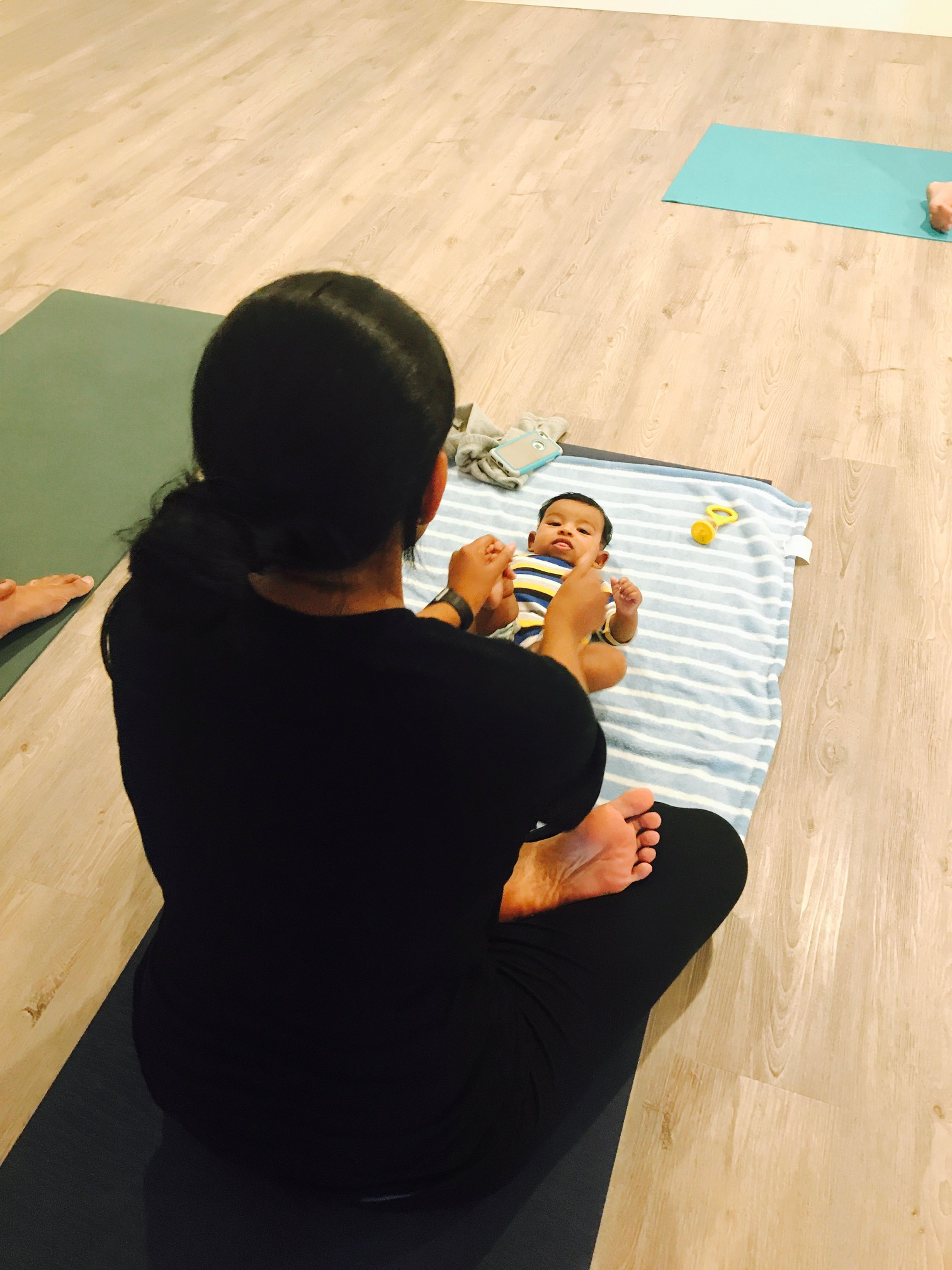 Mom and Baby Pranayama