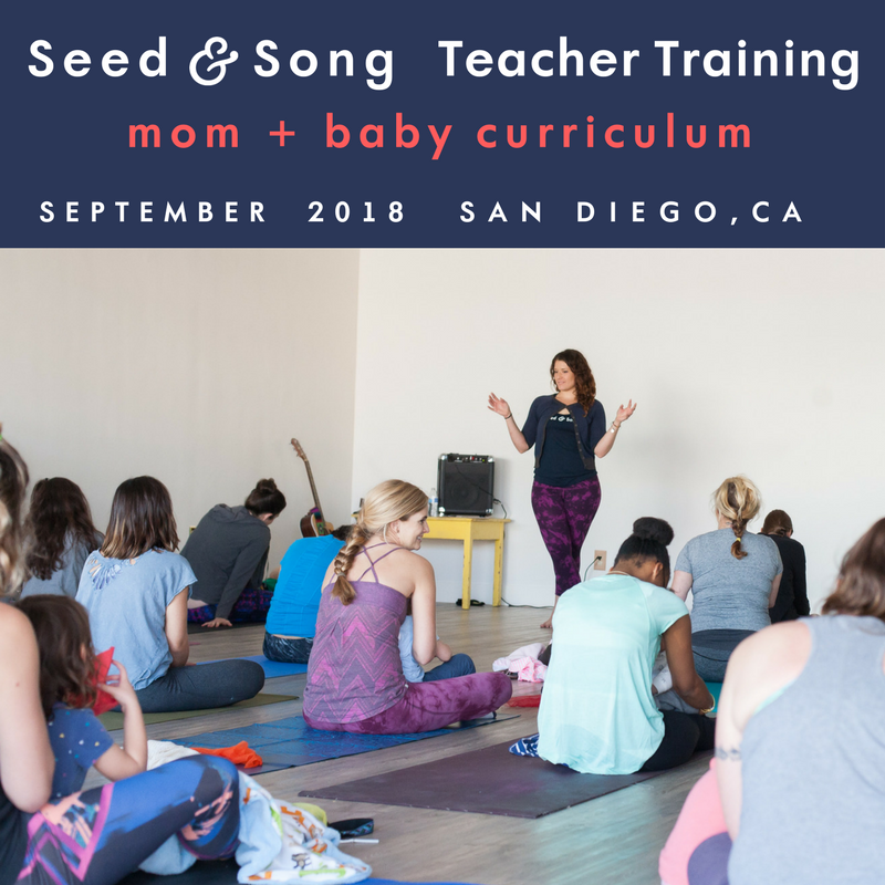 Teacher Training Seed and Song Mom and Baby