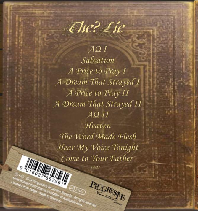 The Lie - track list.JPG